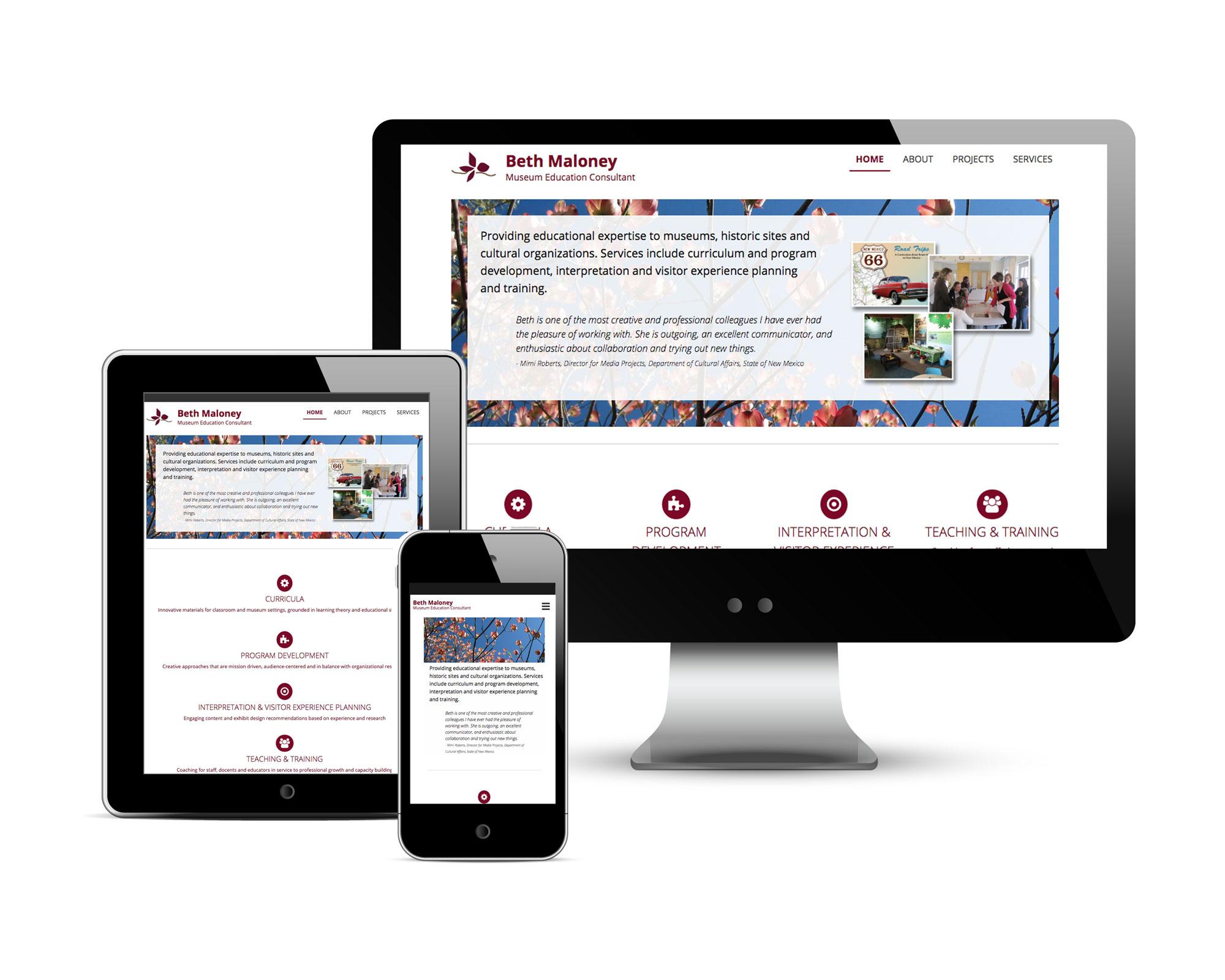 Beth Maloney's Website