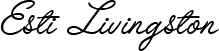 Esti Livingston Retina Logo
